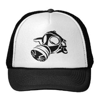 Gasmask Stencil Trucker Hat