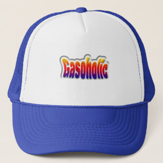gasoholic trucker hat