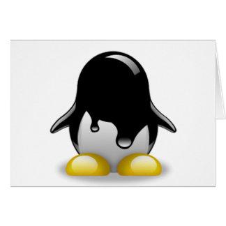 Gasolina de Linux Felicitación