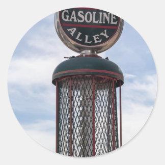 Gasoline Alley Classic Round Sticker