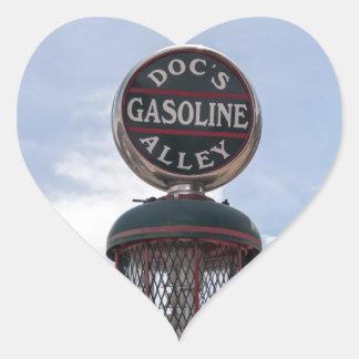 Gasoline Alley Heart Sticker