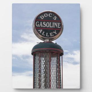 Gasoline Alley Plaque