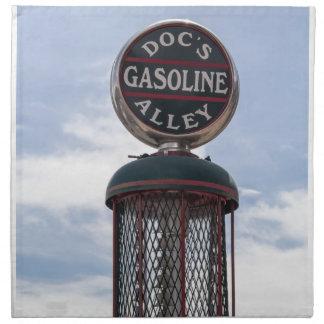Gasoline Alley Printed Napkin