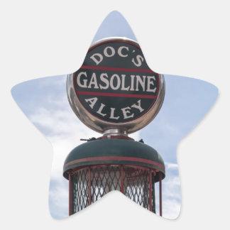 Gasoline Alley Star Sticker