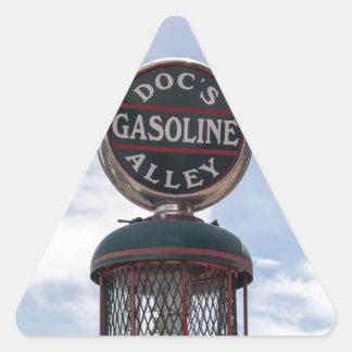Gasoline Alley Triangle Sticker