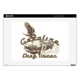 Gasoline Laptop Decal