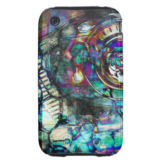 Gasoline Motorcycle Engine Tough iPhone 3 Cases