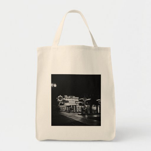 Gasoline Station Hollywood California Vintage 1942 Canvas Bags