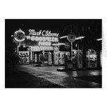 Gasoline Station Hollywood California Vintage 1942 Greeting Card