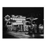 Gasoline Station Hollywood California Vintage 1942 Postcard