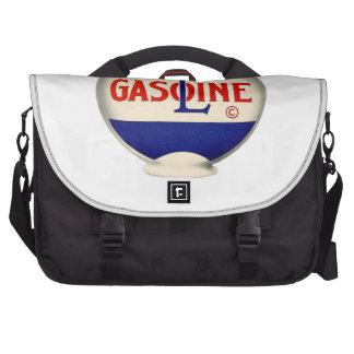 Gasoline Vintage Advertising Laptop Commuter Bag