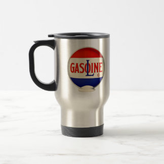 Gasoline Vintage Advertising Travel Mug