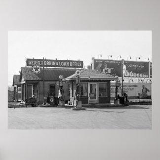Gasolinera 1925 impresiones