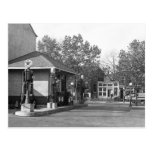 Gasolinera 1925 postal