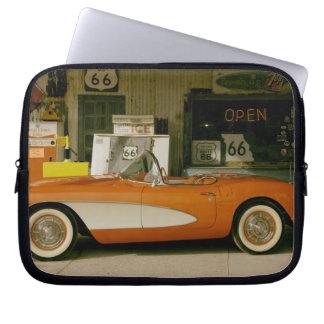 Gasolinera clásica del RT 66 Funda Portátil
