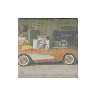 Gasolinera clásica del RT 66 Imán De Piedra