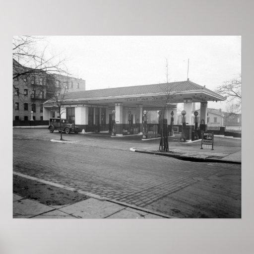 Gasolinera de Amoco, 1925