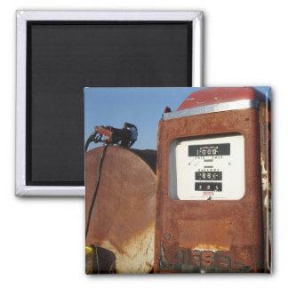 Gasolinera de la carretera nacional imán