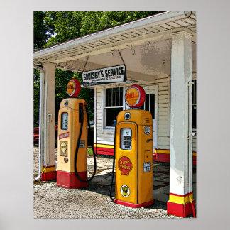 Gasolinera de Soulsby Impresiones