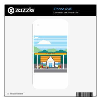 Gasolinera Skin Para El iPhone 4