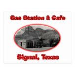 Gasolinera y café postal