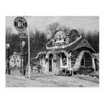 Gasolinera y vintage Missouri de las cabinas del t Postal