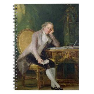 Gaspar Melchor de Jovellanos, 1797-98 (aceite en c Cuadernos