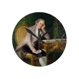 Gaspar Melchor de Jovellanos, 1797-98 (aceite en c Reloj Redondo Mediano