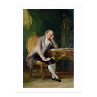 Gaspar Melchor de Jovellanos, 1797-98 (aceite en Postal