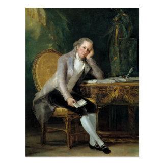 Gaspar Melchor de Jovellanos de Francisco Goya Postales