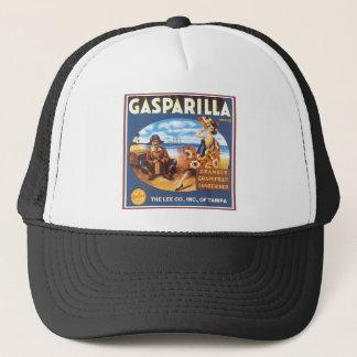Gasparilla Brand Vintage Citrus Label Trucker Hat