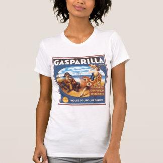 Gasparilla Brand Vintage Citrus Label Tshirt