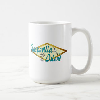 Gasparilla Island Florida beach design Coffee Mug