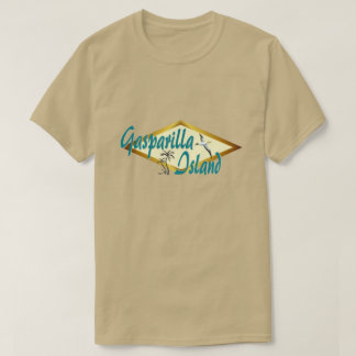 Gasparilla Island Florida beach design T-Shirt