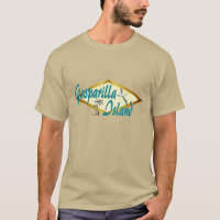 Gasparilla Island Florida beach design T-Shirt