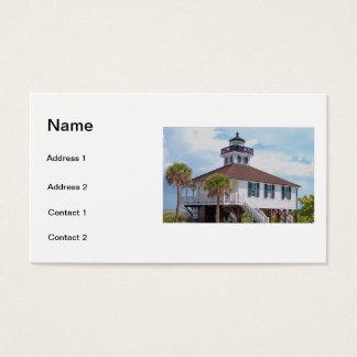 Gasparilla Light Business Card