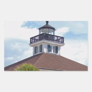 Gasparilla Lighthouse Rectangular Sticker