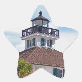 Gasparilla Lighthouse Star Sticker