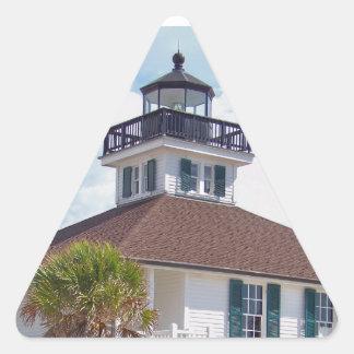 Gasparilla Lighthouse Triangle Sticker