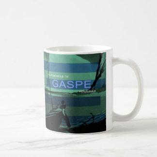 Gaspe Peninsula Canada Quebec Nautical Sailboat Coffee Mug