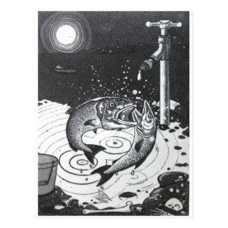 Gaspingfish Postcard