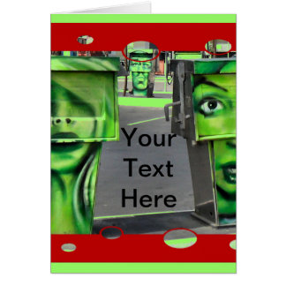 Gasps Pumps Greeting Cards