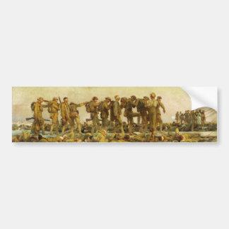 Gassed by John Singer Sargent World War I Bumper Sticker