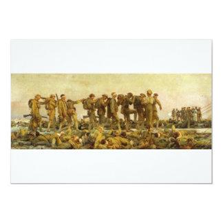 Gassed by John Singer Sargent World War I Card