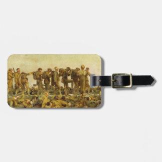 Gassed by John Singer Sargent World War I Luggage Tag