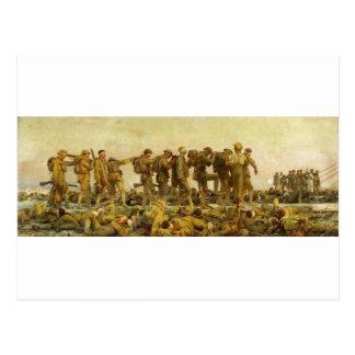 Gassed by John Singer Sargent World War I Postcard