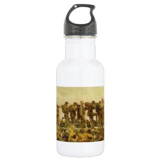 Gassed by John Singer Sargent World War I Stainless Steel Water Bottle