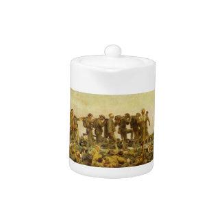 Gassed by John Singer Sargent World War I Teapot