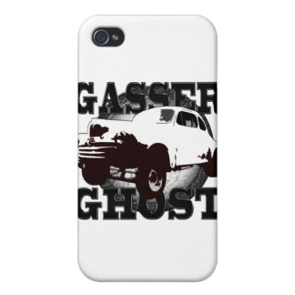 gasser ghost 2 white shirt_horizontal iPhone 4/4S cases