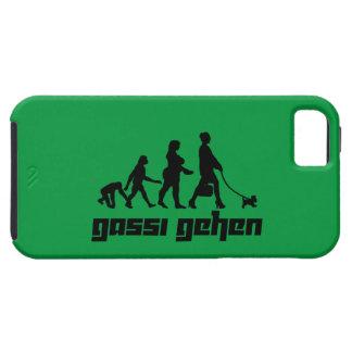 Gassi gehen iPhone SE/5/5s case